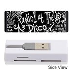 Panic ! At The Disco Lyric Quotes Memory Card Reader (Stick)  Front