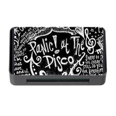 Panic ! At The Disco Lyric Quotes Memory Card Reader With Cf