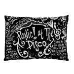 Panic ! At The Disco Lyric Quotes Pillow Case (Two Sides) Back