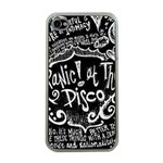 Panic ! At The Disco Lyric Quotes Apple iPhone 4 Case (Clear) Front
