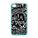 Panic ! At The Disco Lyric Quotes Apple iPhone 4 Case (Color) Front