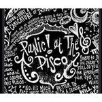Panic ! At The Disco Lyric Quotes Deluxe Canvas 14  x 11  14  x 11  x 1.5  Stretched Canvas