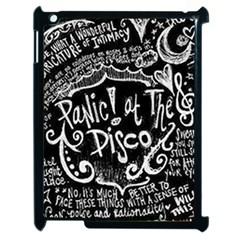 Panic ! At The Disco Lyric Quotes Apple iPad 2 Case (Black)