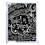 Panic ! At The Disco Lyric Quotes Apple iPad 2 Case (White) Front