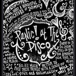 Panic ! At The Disco Lyric Quotes MOM 3D Greeting Card (8x4) Inside