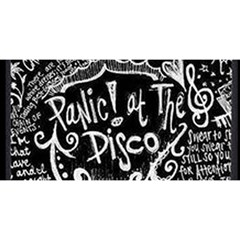 Panic ! At The Disco Lyric Quotes You Are Invited 3d Greeting Card (8x4)