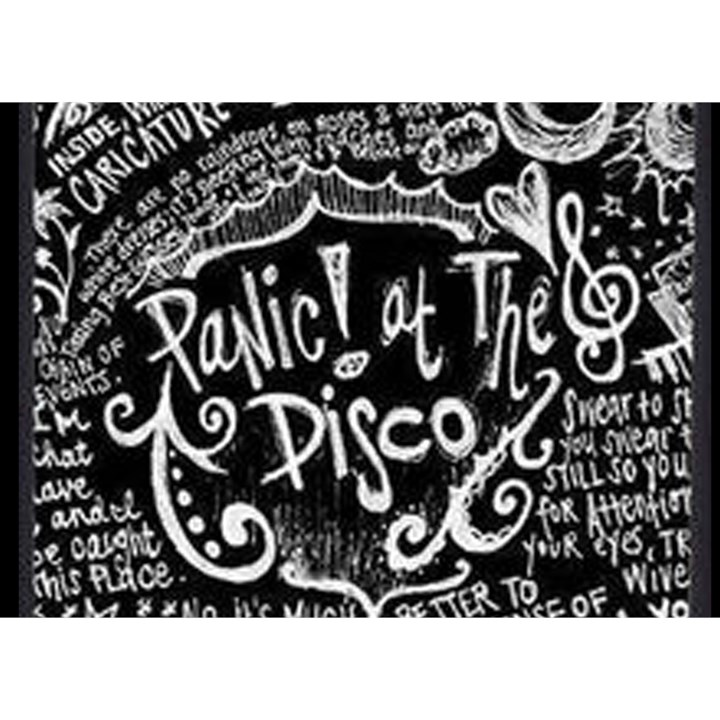 Panic ! At The Disco Lyric Quotes Birthday Cake 3D Greeting Card (7x5)