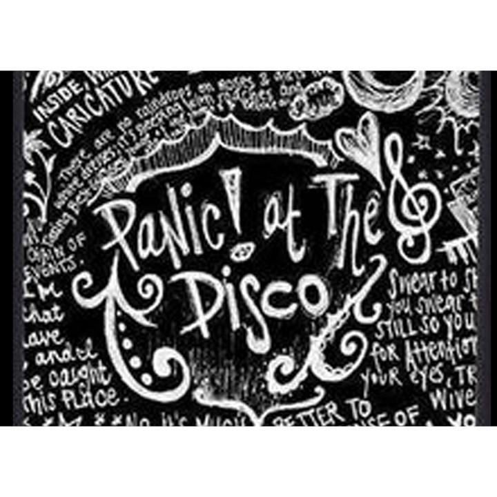 Panic ! At The Disco Lyric Quotes Birthday Cake 3D Greeting Card (7x5)