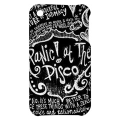 Panic ! At The Disco Lyric Quotes Apple iPhone 3G/3GS Hardshell Case