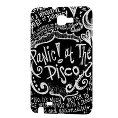 Panic ! At The Disco Lyric Quotes Samsung Galaxy Note 1 Hardshell Case