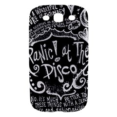 Panic ! At The Disco Lyric Quotes Samsung Galaxy S III Hardshell Case