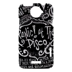 Panic ! At The Disco Lyric Quotes HTC One X Hardshell Case