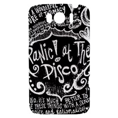 Panic ! At The Disco Lyric Quotes HTC Sensation XL Hardshell Case