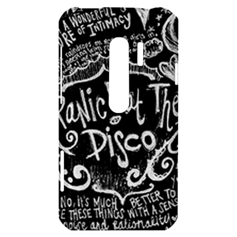 Panic ! At The Disco Lyric Quotes HTC Evo 3D Hardshell Case
