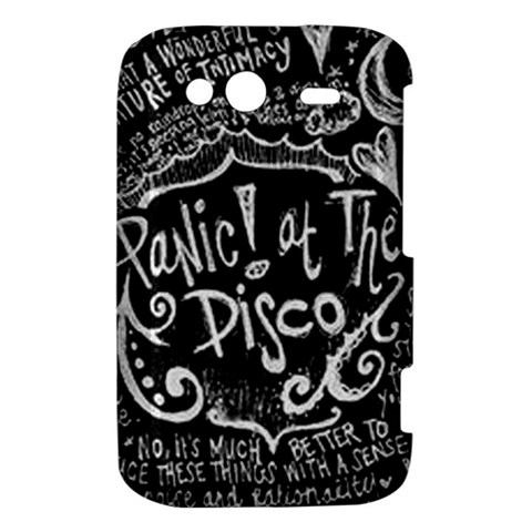 Panic ! At The Disco Lyric Quotes HTC Wildfire S A510e Hardshell Case