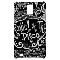 Panic ! At The Disco Lyric Quotes Samsung Infuse 4G Hardshell Case
