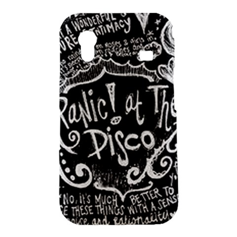 Panic ! At The Disco Lyric Quotes Samsung Galaxy Ace S5830 Hardshell Case