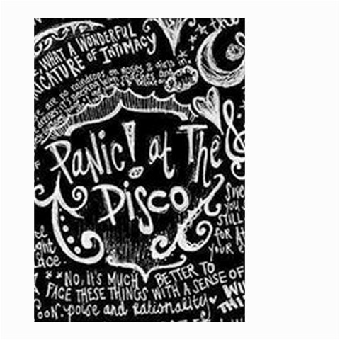 Panic ! At The Disco Lyric Quotes Small Garden Flag (Two Sides)