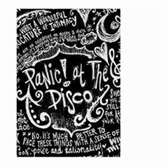 Panic ! At The Disco Lyric Quotes Large Garden Flag (two Sides)