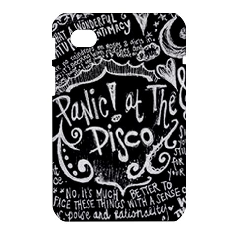 Panic ! At The Disco Lyric Quotes Samsung Galaxy Tab 7  P1000 Hardshell Case