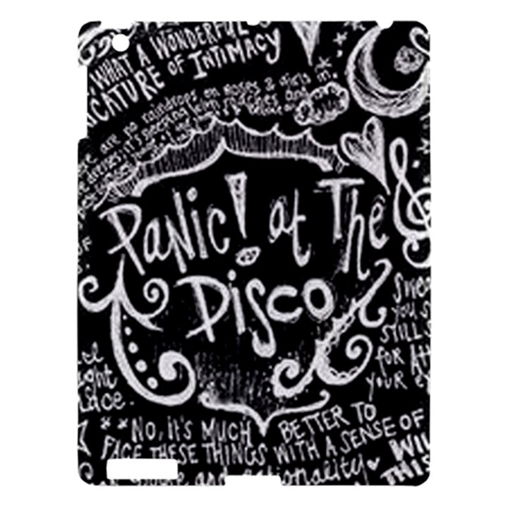 Panic ! At The Disco Lyric Quotes Apple iPad 3/4 Hardshell Case