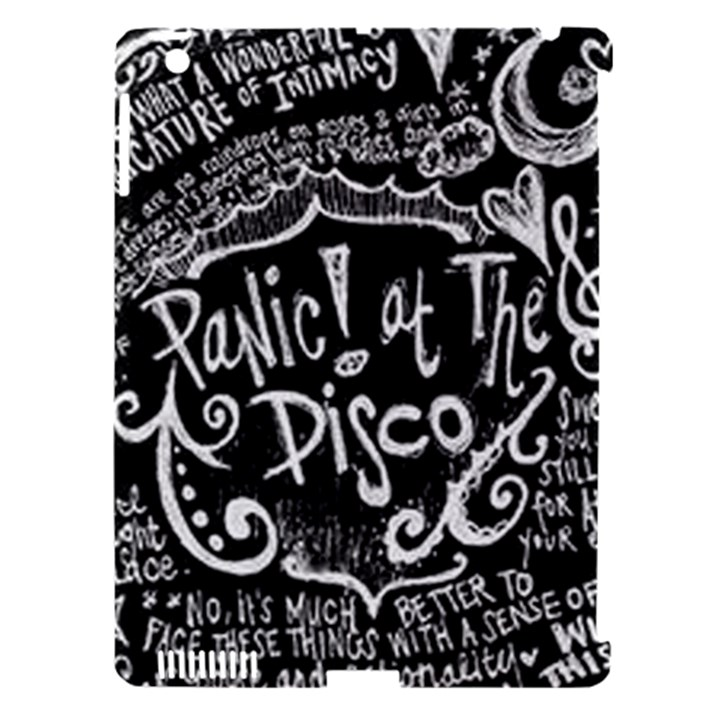 Panic ! At The Disco Lyric Quotes Apple iPad 3/4 Hardshell Case (Compatible with Smart Cover)