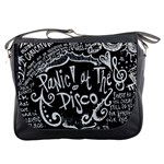 Panic ! At The Disco Lyric Quotes Messenger Bags Front