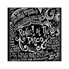 Panic ! At The Disco Lyric Quotes Acrylic Tangram Puzzle (6  x 6 )