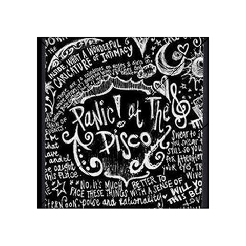 Panic ! At The Disco Lyric Quotes Acrylic Tangram Puzzle (4  x 4 )