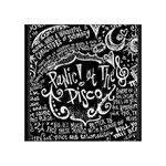 Panic ! At The Disco Lyric Quotes Acrylic Tangram Puzzle (4  x 4 ) Front