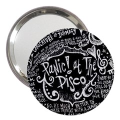 Panic ! At The Disco Lyric Quotes 3  Handbag Mirrors