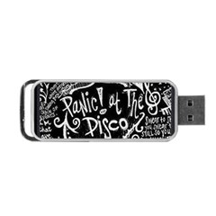 Panic ! At The Disco Lyric Quotes Portable USB Flash (One Side)