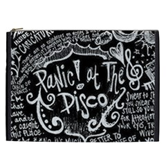 Panic ! At The Disco Lyric Quotes Cosmetic Bag (xxl)