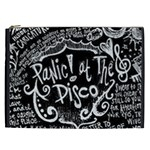 Panic ! At The Disco Lyric Quotes Cosmetic Bag (XXL)  Front