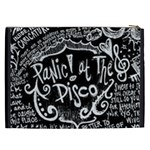 Panic ! At The Disco Lyric Quotes Cosmetic Bag (XXL)  Back