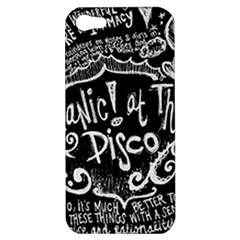 Panic ! At The Disco Lyric Quotes Apple iPhone 5 Hardshell Case