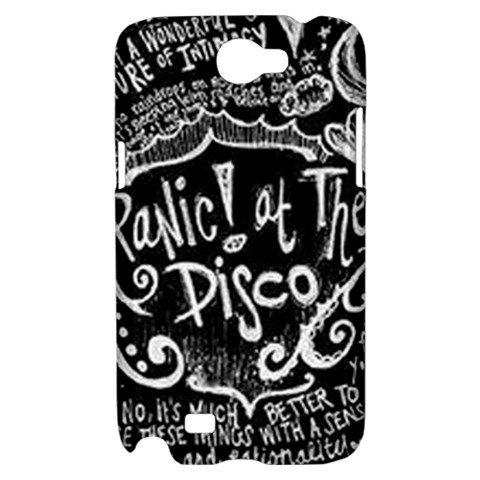 Panic ! At The Disco Lyric Quotes Samsung Galaxy Note 2 Hardshell Case