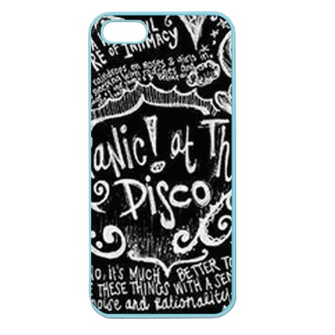 Panic ! At The Disco Lyric Quotes Apple Seamless iPhone 5 Case (Color)