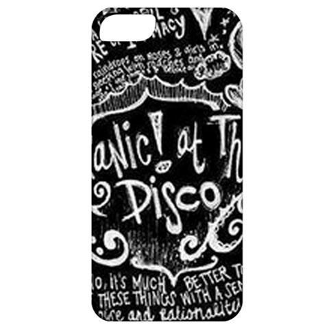 Panic ! At The Disco Lyric Quotes Apple iPhone 5 Classic Hardshell Case