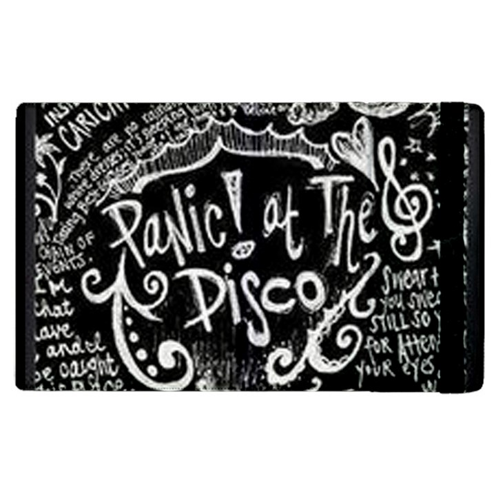 Panic ! At The Disco Lyric Quotes Apple iPad 3/4 Flip Case