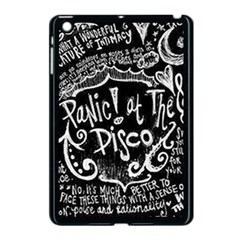 Panic ! At The Disco Lyric Quotes Apple iPad Mini Case (Black)