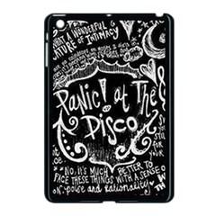 Panic ! At The Disco Lyric Quotes Apple Ipad Mini Case (black)