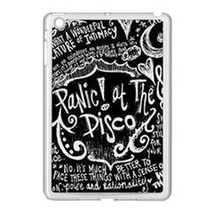 Panic ! At The Disco Lyric Quotes Apple iPad Mini Case (White)