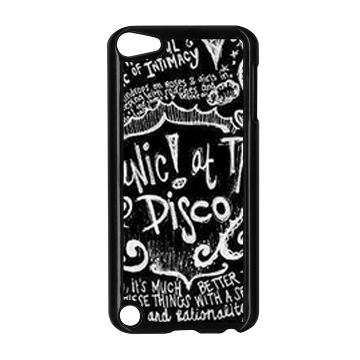 Panic ! At The Disco Lyric Quotes Apple iPod Touch 5 Case (Black)
