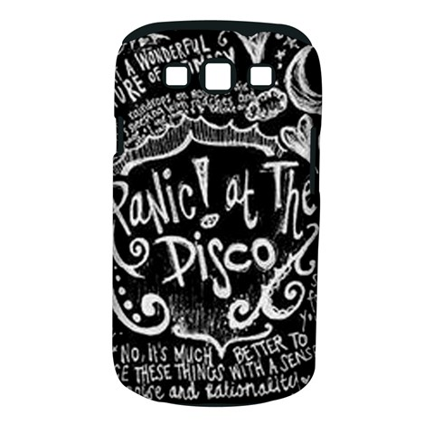 Panic ! At The Disco Lyric Quotes Samsung Galaxy S III Classic Hardshell Case (PC+Silicone)