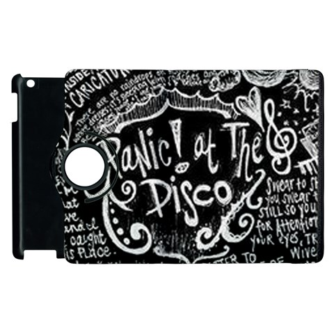Panic ! At The Disco Lyric Quotes Apple iPad 2 Flip 360 Case