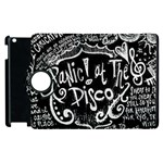 Panic ! At The Disco Lyric Quotes Apple iPad 2 Flip 360 Case Front