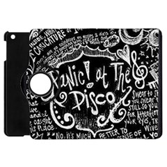 Panic ! At The Disco Lyric Quotes Apple Ipad Mini Flip 360 Case