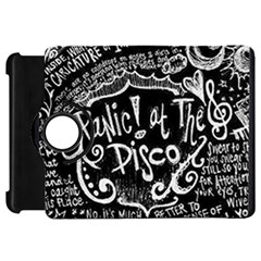 Panic ! At The Disco Lyric Quotes Kindle Fire Hd Flip 360 Case
