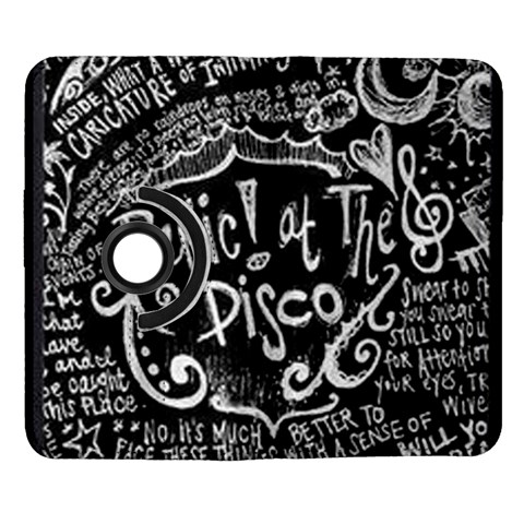 Panic ! At The Disco Lyric Quotes Samsung Galaxy Note II Flip 360 Case